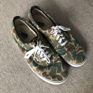 Vans Camo Skate Shoe Sneakers